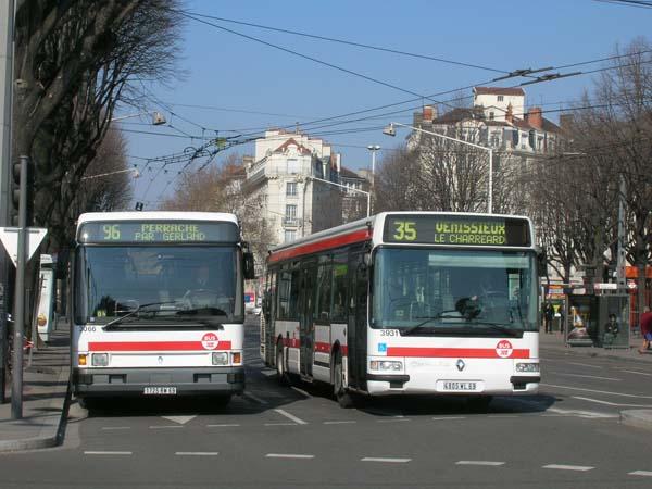 Plan interactif - Bus grenoble lyon ...