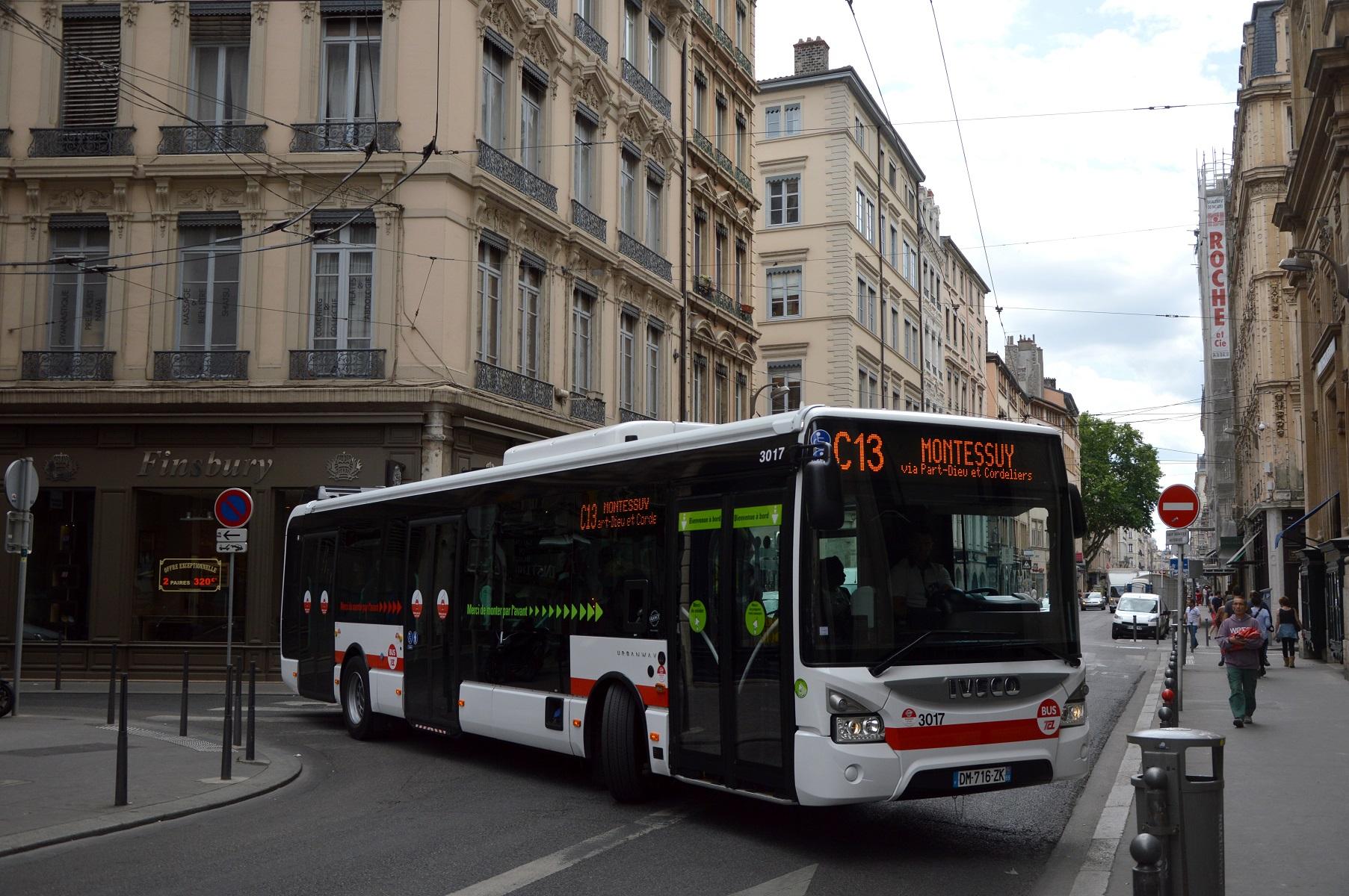 Bus Lyon Granche Blanche Hotel De Ville